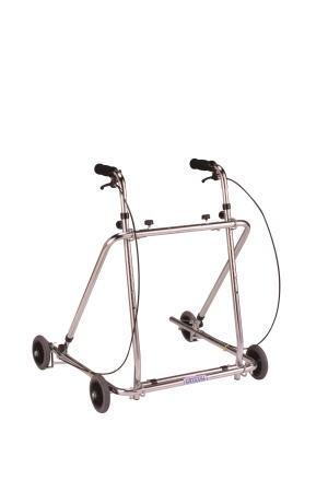 歩行車 ローレーターAL-136折り畳み型 クリスタル産業 四輪歩行器(介護用品 歩行器 介護 高齢者 歩行器)