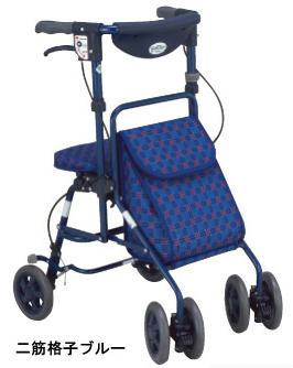シルバーカー フォルテ  島製作所 歩行器ショッピングカート(介護用品 歩行器 介護 高齢者 歩行器 シルバー)