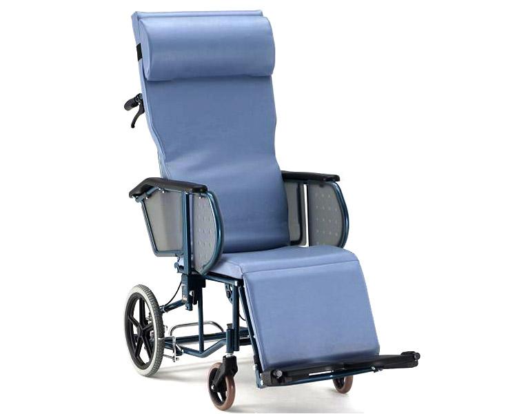 リクライニング 車椅子 介助用フルリクライニング車椅子 エスコート FR-11R  松永製作所(車椅子 車いす 車イス)