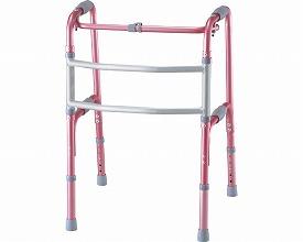 セーフティーアーム 交互式 / KSAR-P ピンク  イーストアイ 交互歩行器(介護用品 歩行器 介護 高齢者 歩行器 シルバー)