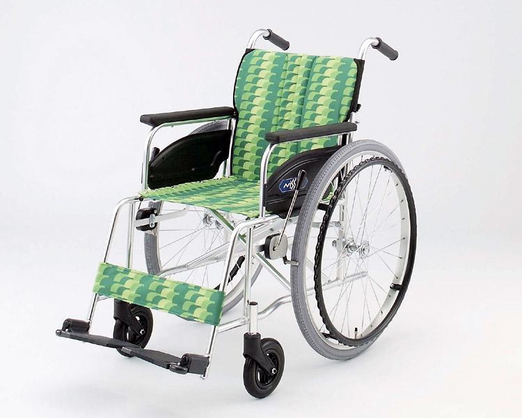 車椅子 軽量 アルミ自走式車椅子 NA-466A 日進医療器(車椅子 車いす 車イス)
