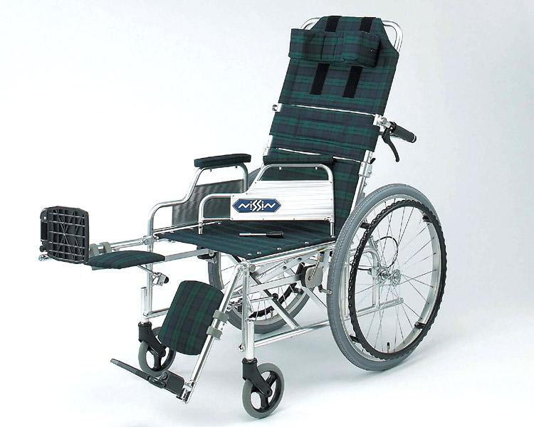 車椅子 軽量 アルミ自走式車椅子 NA-117Bデスク 日進医療器(車椅子 車いす 車イス)