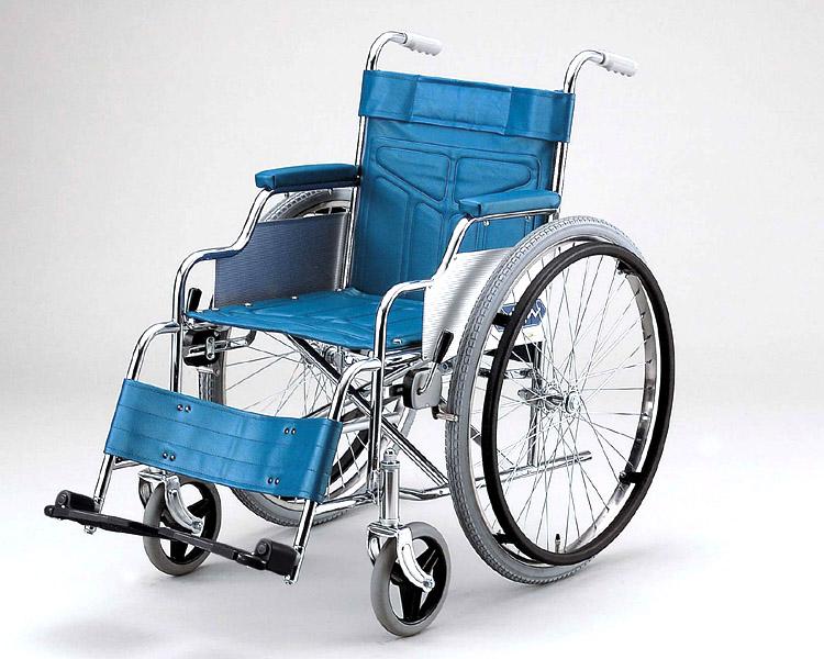 車椅子 車いす 車イス 送料無料 スチール製標準型車いす / ND-1 日進医療器(車椅子 車いす 車イス)
