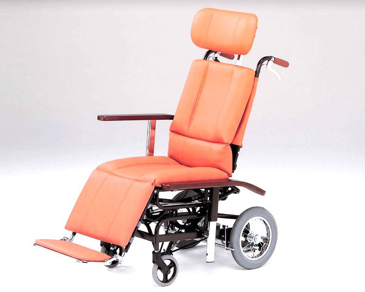 リクライニング 車椅子 フルリクライニング車椅子 NHR-7 日進医療器(車椅子 車いす 車イス)