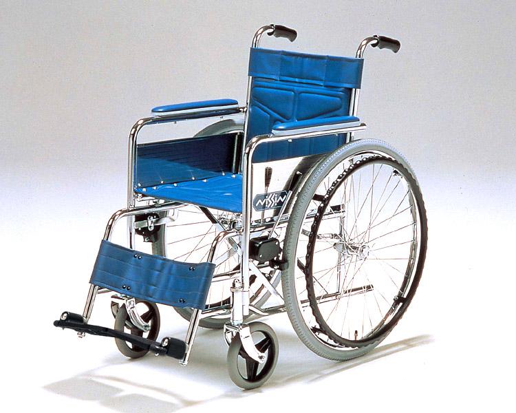 車椅子 車いす 車イス 送料無料 スチール自走式車椅子 NS-1  日進医療器(車椅子 車いす 車イス)