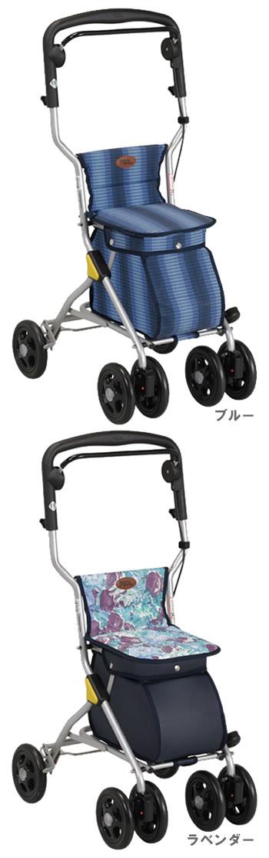 シルバーカーワンダー OD-10A  幸和製作所(手押し車 老人 ショッピングカート 4輪 老人 手押し 車 シルバー)(介護用品 歩行器 介護 高齢者 歩行器 シルバー)