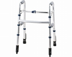 固定型歩行器 セーフティーアームウォーカー Cタイプ / SAWCSSR シルバー SSタイプ  イーストアイ(介護用品 歩行器 介護 高齢者 歩行器 シルバー)