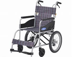 車椅子 軽量 アルミ介助車いす NEO-2 日進医療器(車椅子 車いす 車イス)
