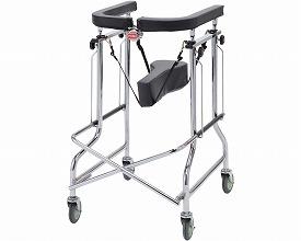 歩行器 アルコー2型 / 100002  星光医療器製作所 四輪歩行器(介護用品 歩行器 介護 高齢者 歩行器 シルバー)