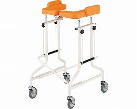 歩行器 / アルコーCG型  星光医療器製作所 四輪歩行器(介護用品 歩行器 介護 高齢者 歩行器 シルバー)