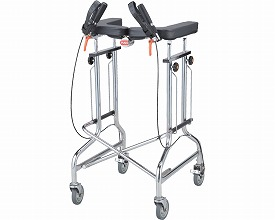 歩行器 / アルコー1S-X型  星光医療器製作所 四輪歩行器(介護用品 歩行器 介護 高齢者 歩行器 シルバー 歩行 器 大人 歩行補助)