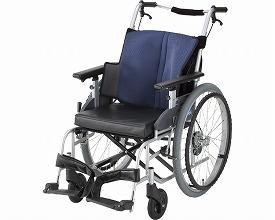 車椅子 軽量 座王 NA-501A 自走式 日進医療器(車椅子 車いす 車イス)