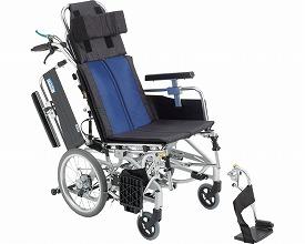 車椅子 軽量 アルミ介助車いす BAL-12  ミキ(車椅子 車いす 車イス)