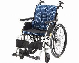 車椅子 軽量 アルミ自走車いす ウルトラ NA-U1 日進医療器(車椅子 車いす 車イス)