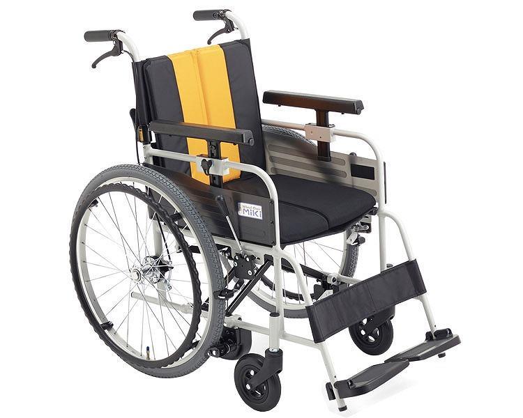 車椅子 軽量 アルミ自走車いす MBY-47B ミキ(車椅子 車いす 車イス)