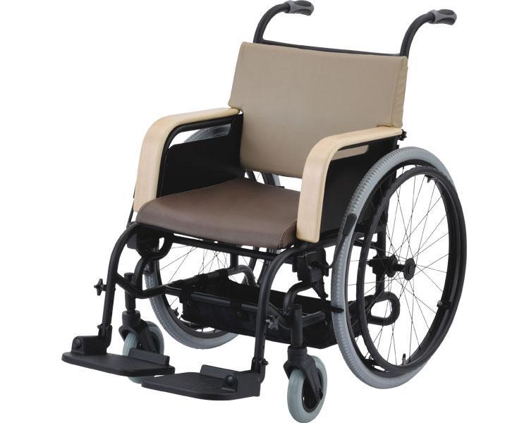 車椅子 軽量 アルミ自走車いす アシスタイースI / 202060AA ブラウン【ピジョンタヒラ】【smtb-KD】