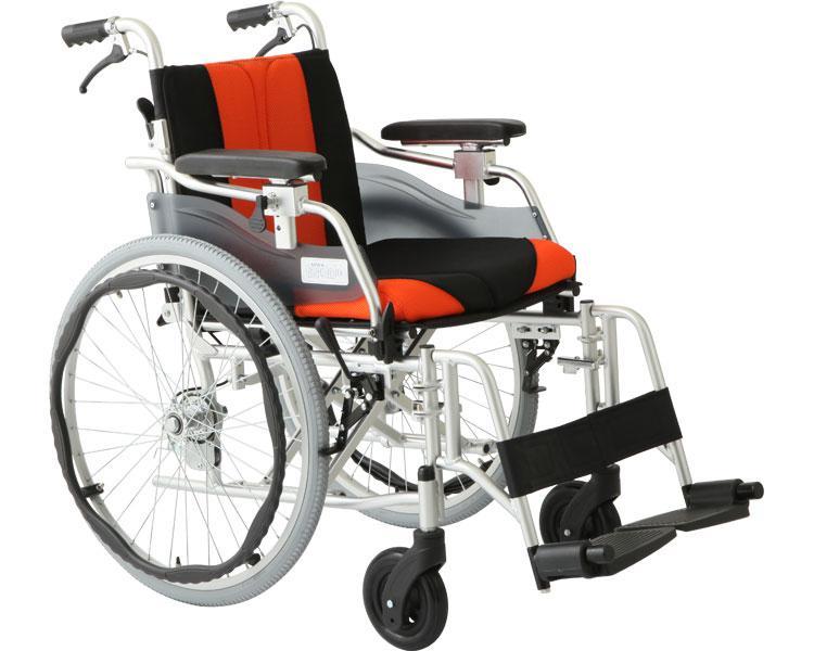 車椅子 車いす 車イス 送料無料 多機能車いす デラックスEZ / HTB-22EZ【美和商事】【smtb-KD】