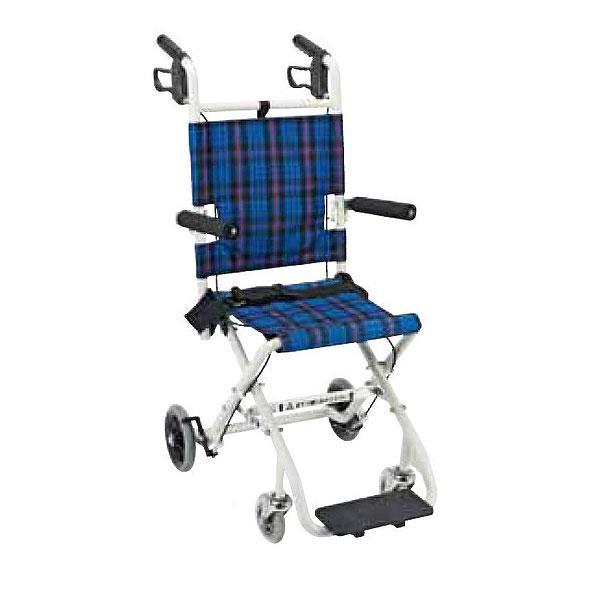 【お買得】 車椅子 軽量 折り畳み コンパクト車いす のっぴープラス NP-001NC マキライフテック 車椅子 車いす 車イス 送料無料, 激安家電販売 PCあきんど楽市店 7a93387c