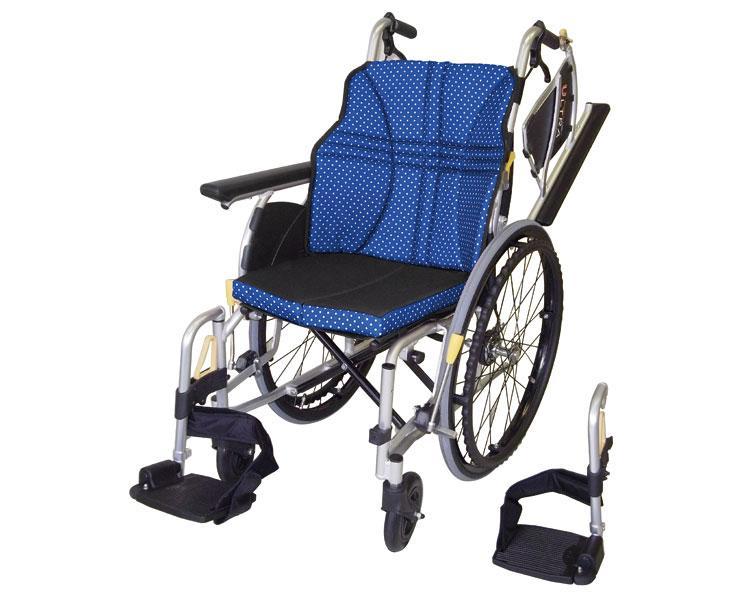 車椅子 軽量 アルミ自走車いす ウルトラ NA-U2W 日進医療器(車椅子 車いす 車イス)
