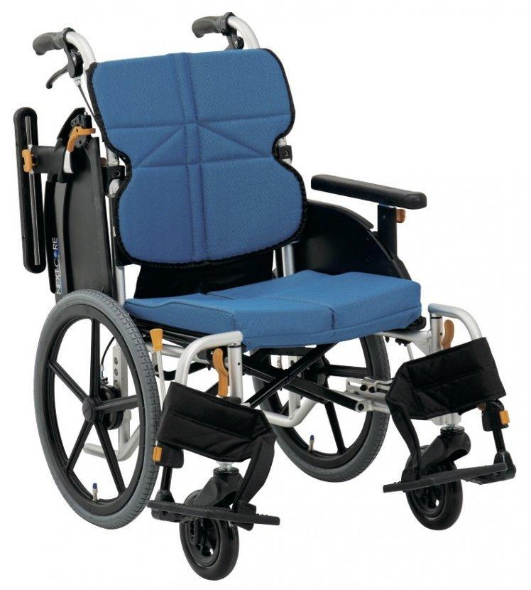 車椅子 車いす 車イス 送料無料 ネクストコア・ミニモ 介助用車いす NEXT-60B 松永製作所(車椅子 車いす 車イス)