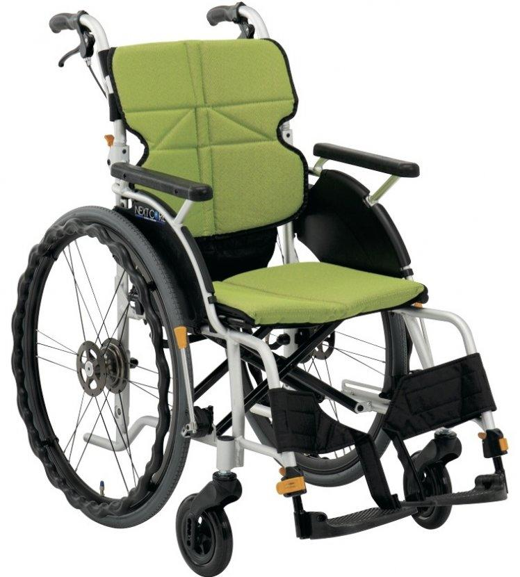 車椅子 車いす 車イス 送料無料 ネクストコア・くるり 自走用 NEXT-71B 松永製作所(車椅子 車いす 車イス)