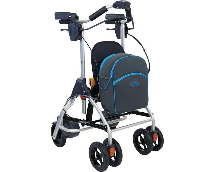 リトルキーパス / WAW10 幸和製作所 四輪歩行器(介護用品 歩行器 介護 高齢者 歩行器 シルバー)