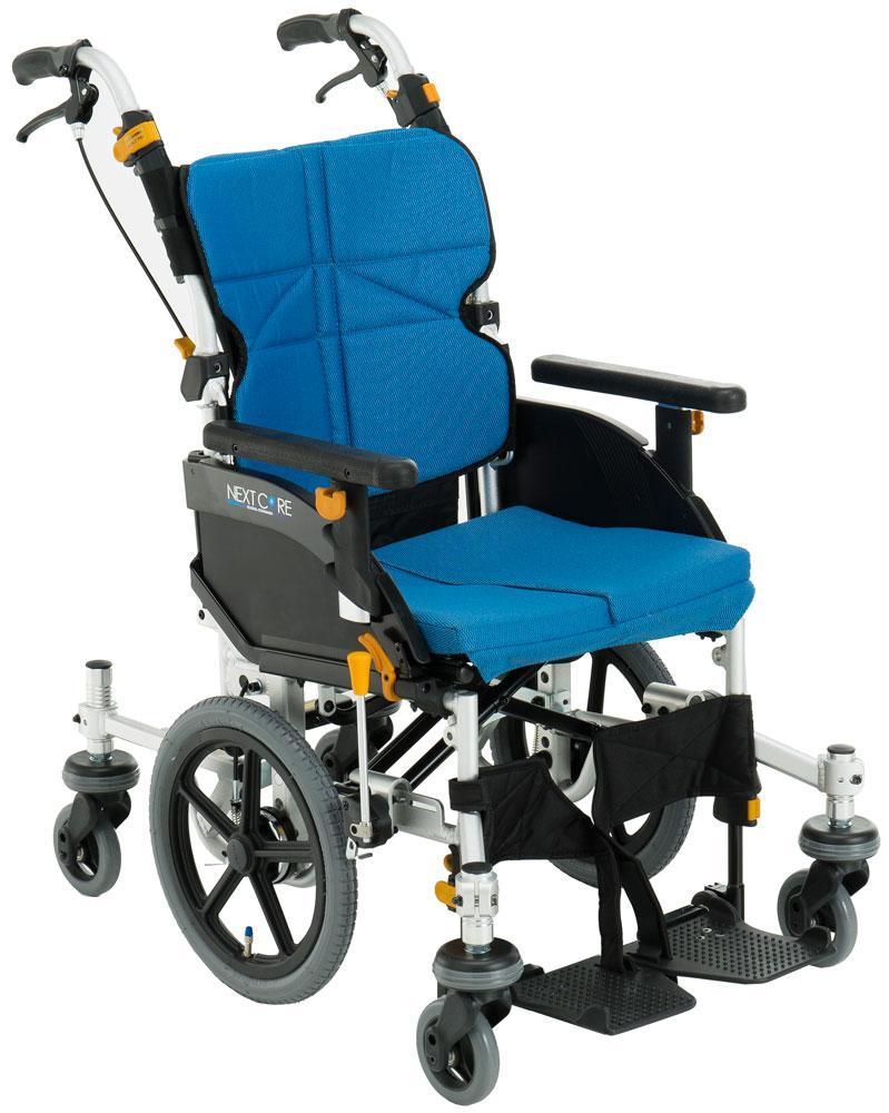 車椅子 車いす 車イス 送料無料 ネクストコア・くるり 介助用 NEXT-80B 松永製作所(車椅子 車いす 車イス)
