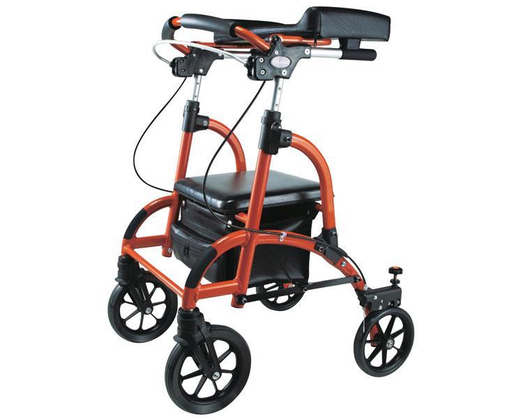 四輪歩行器 歩行車 friend(フレンド シルバー) / WF-1 ウェルパートナーズ(介護用品 歩行器 介護 高齢者 歩行器 シルバー)