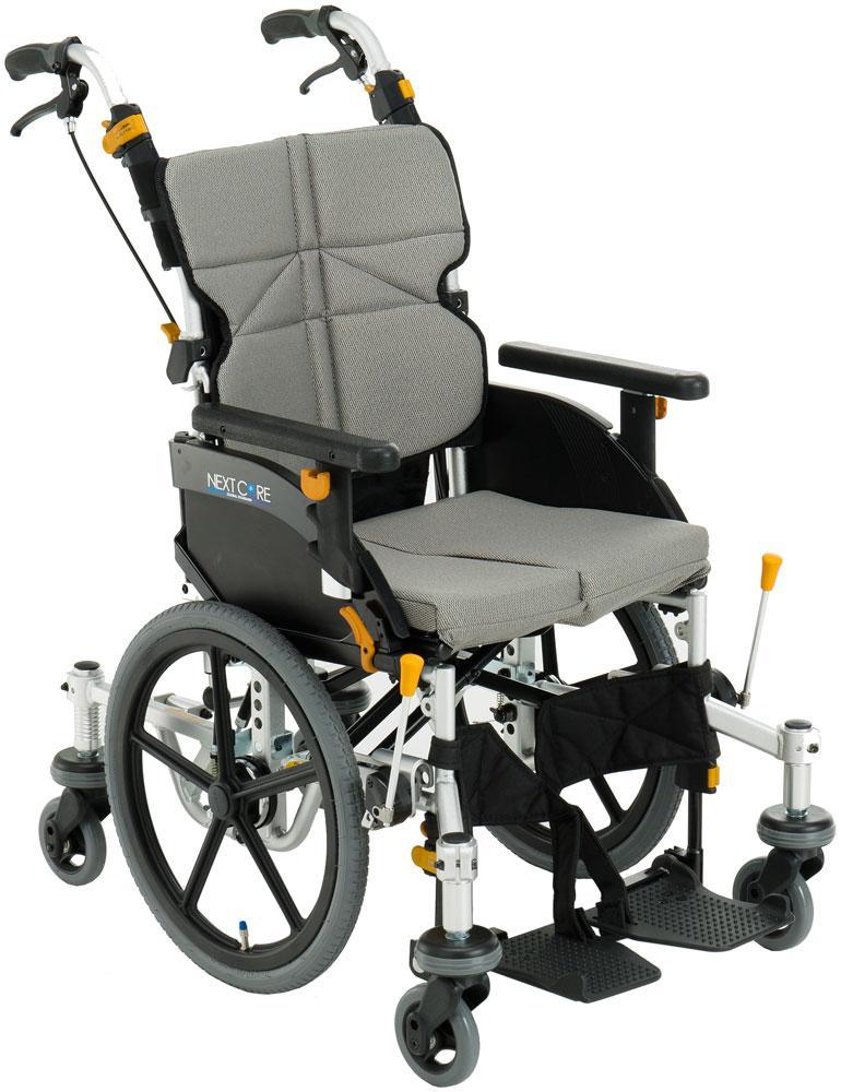 車椅子 車いす 車イス 送料無料 ネクストコア・くるり 介助用 NEXT-81B 松永製作所(車椅子 車いす 車イス)