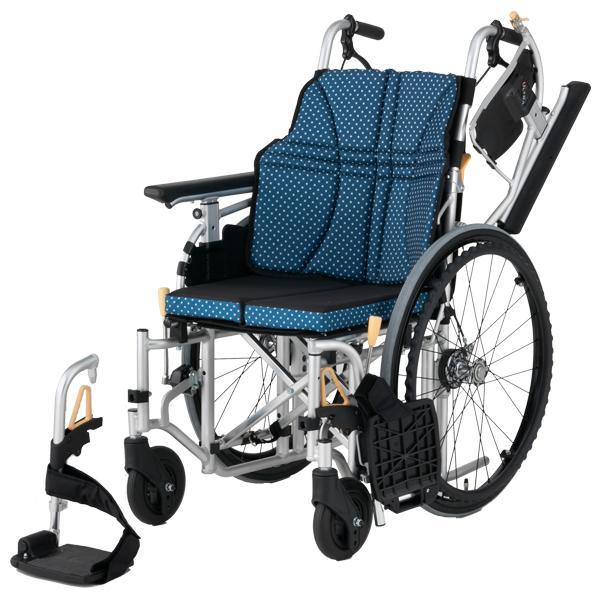 車椅子 軽量 アルミ自走用車いす ウルトラ NA-U7 日進医療器(車椅子 車いす 車イス)