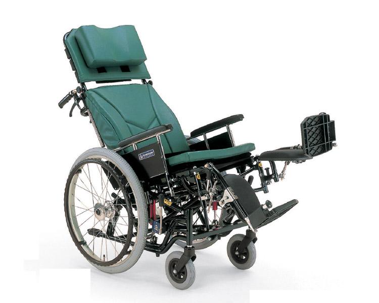 リクライニング 車椅子 自走用ティルティング&リクライニング車椅子 KX22-42EL モジュールタイプ  カワムラサイクル (車椅子 車いす 車イス 折りたたみ)