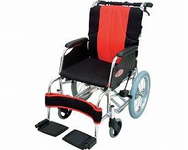 車椅子 軽量 アルミ介助用車いすシリウス 0102-LA レボスタシリーズ インターリンクス(車椅子 軽量 折り畳み 自走式 車いす 車イス アルミ製)