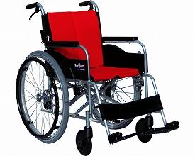車椅子 軽量 アルミ製自走型車いす レボスタ1 インターリンクス(車椅子 軽量 折り畳み 自走式 車いす 車イス アルミ製)