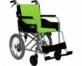 車椅子 軽量 アルミ製介助型車いす レボスタ1 インターリンクス(車椅子 軽量 折り畳み 自走式 車いす 車イス アルミ製)