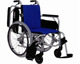 【送料無料】  アルミ製自走型車いす レボスタ7 【インターリンクス】【smtb-KD】