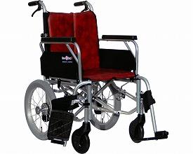 車椅子 軽量 アルミ製介助型車いす レボスタ7 インターリンクス (車椅子 軽量 折り畳み 自走式 車いす 車イス アルミ製)