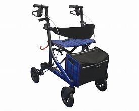 愛乗ストリーム / SM-18A エーアイジェイ(手押し車 老人 ショッピングカート 4輪 老人 手押し 車 シルバー)(介護用品 歩行器 介護 高齢者 歩行器 シルバー)
