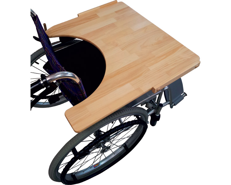 車いす用テーブル 送料無料 ヨッコイショテーブル リバーシブルタイプ / nishiuraR【ニシウラ】