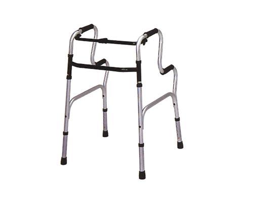 歩行器 介護用 固定式歩行器 ステップウォーカー テツコーポレーション 固定型歩行器(介護用品 歩行器 介護 高齢者 歩行器 シルバー)