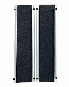 車椅子 スロープ ワイドアルミスロープ EW90 長さ0.9m イーストアイ 段差解消 段差スロープ 車椅子用スロープ バリアフリー