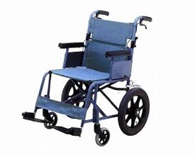 車椅子 車いす 車イス 送料無料 介助用アルミ軽量コンパクト車いす FY14 スタンダードタイプ/ 【イーストアイ】【smtb-KD】