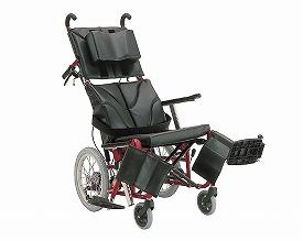 リクライニング 車椅子 ティルティング&リクライニング車椅子 ぴったりフィット KPF16-40・42  カワムラサイクル (車椅子 車いす 車イス 折りたたみ)