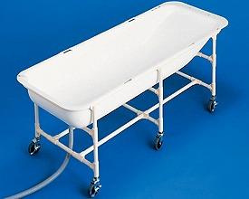 介護浴槽湯った~り2 ベッド用さくら TNN-AH トマト(簡易 浴槽 入浴 介助 浴槽)