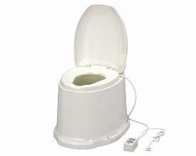 簡易 洋式トイレ 送料無料 サニタリエースSD 暖房便座 据置式ノーマルタイプ/533-463 【アロン化成】【smtb-KD】