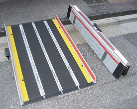折りたたみ式軽量スロープ デクパック EBL200/2.0mタイプ/ 【ケアメディックス】【smtb-KD】