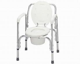 ポータブルトイレ アルミ製トイレチェア T-8203 テツコーポレーション
