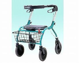 歩行器 歩行補助車 オパル2000 5200タイプ(大 シルバー)/  ラックヘルスケア(手押し車 老人 ショッピングカート 4輪 老人 手押し 車 シルバー)(介護用品 歩行器 介護 高齢者 歩行器 シルバー)