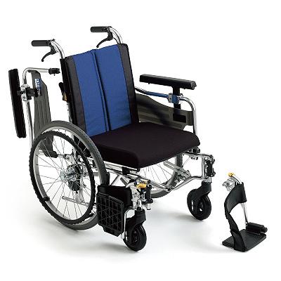 車椅子 軽量 アルミ自走車いす BAL-9 座幅40cm ミキ(低座面 車椅子 車いす 車イス)