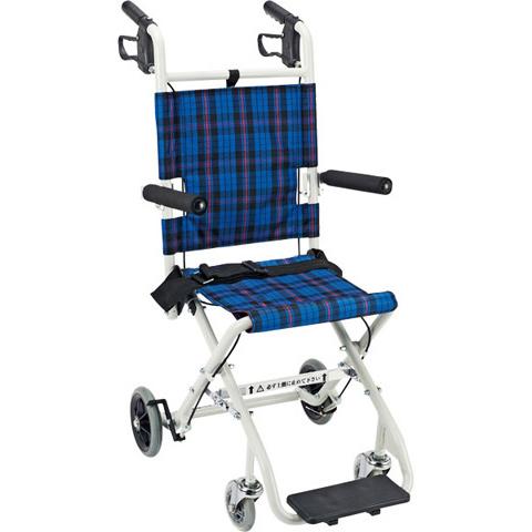 車椅子 軽量 折り畳み 送料無料 100%品質保証! 車いす 車イス NP-001NC 介護用品 のっぴープラス 輸入 マキライフテック コンパクト簡易車いす