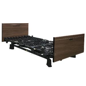 在宅介護用ベッド ミオレット3 90cm幅 3モーター 木製フラットボード (P113-31BA)プラッツ
